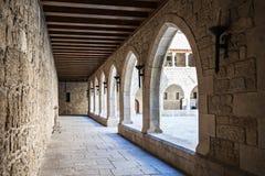 Slott Duques av Braganza Royaltyfri Foto