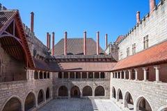 Slott Duques av Braganza Fotografering för Bildbyråer