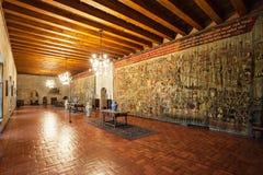Slott Duques Braganza Arkivbild