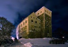 slott dystra turku Fotografering för Bildbyråer