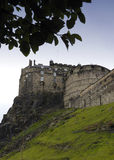 slott edinburgh Royaltyfri Bild