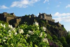 slott edinburgh Arkivbilder
