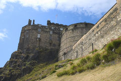 slott edinburgh Royaltyfria Bilder
