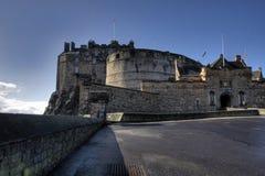 slott edinburgh royaltyfria bilder