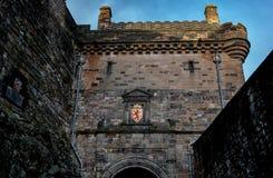 slott edinburgh scotland Fotografering för Bildbyråer