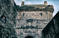slott edinburgh scotland Arkivbilder