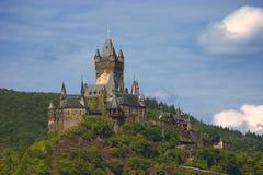 Slott Eltz i Cochem Arkivbild