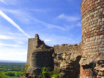 slott england royaltyfri bild