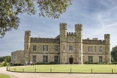 slott england kent leeds fotografering för bildbyråer