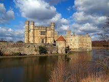 slott england leeds arkivbild