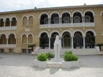 Slott för ärkebiskop` s i Cypern Nicosia arkivbilder