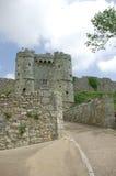 slott för 2 caribrooke royaltyfri foto