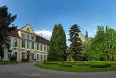 slott för abbotsdomkyrkaoliwa Fotografering för Bildbyråer