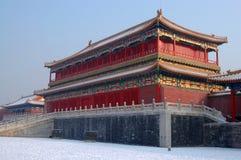slott för beijing museumnational Royaltyfria Foton