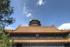 Slott för Beijing (Peking), Kina âsommar Arkivfoton