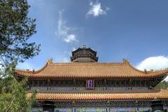 Slott för Beijing (Peking), Kina âsommar Royaltyfria Bilder