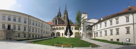 slott för bishop brno Royaltyfri Fotografi
