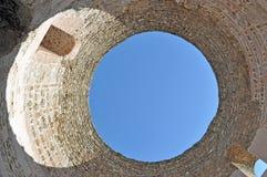 Slott för Diocletian ` s Arkivbilder