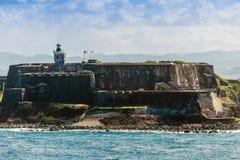 Slott för El Morro Royaltyfri Fotografi
