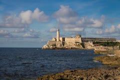 Slott för El Morro - havannacigarr, Kuba Fotografering för Bildbyråer