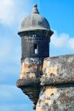 Slott för El Morro på gamla San Juan Royaltyfri Fotografi
