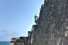 Slott för El Morro, San Juan, Puerto Rico Royaltyfri Bild