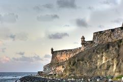 Slott för El Morro, San Juan, Puerto Rico Royaltyfria Bilder