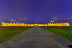 Slott för El Morro, San Juan, Puerto Rico Royaltyfri Fotografi