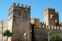 Slott för El Puerto de Santa Maria Royaltyfri Foto
