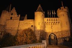 Slott för Het steen Royaltyfri Fotografi