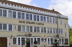 Slott för Jack Straw ` s i Hampstead London UK arkivfoto