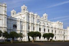Slott för Jal Vilas - Gwalior - Indien Arkivfoton