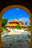 Slott för kinesisk stil, Smäll-PA-i slott på det Ayudhaya landskapet, Th Royaltyfri Bild