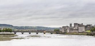 Slott för konung JohnÂs Arkivfoto