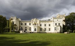 slott för krzekrzeslicelice Royaltyfria Foton