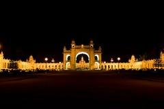 slott för maharajah mysore royaltyfri foto