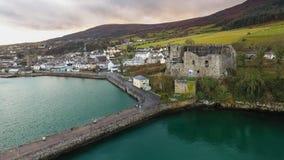 Slott för ` s för konung John Carlingford ståndsmässiga Louth ireland arkivbilder