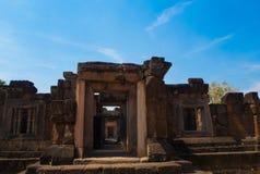 Slott för Sa Kampheang Yai Arkivfoto