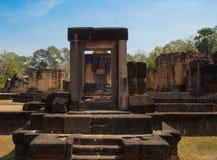 Slott för Sa Kampheang Yai arkivfoton