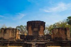 Slott för Sa Kampheang Yai royaltyfri fotografi