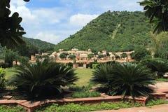 Slott för Srisodha raniträdgård. Fotografering för Bildbyråer