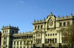 slott för stadsguatemala national Arkivfoton