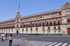 slott för stadsmexico national Royaltyfri Fotografi