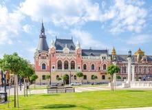 Slott för stift för grekisk katolik biskops- i Oradea Royaltyfri Foto