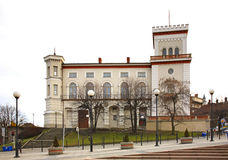 Slott för SuÅ 'kowski i Bielsko-Biala poland royaltyfri foto