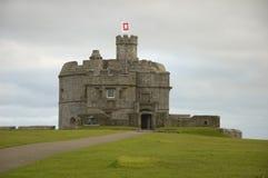 slott falmouth Arkivbild