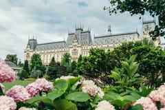 Slott från Iasi, Rumänien royaltyfria bilder