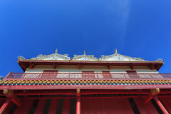 Slott för kinesisk stil av Wehart Chamrunt i smäll PA-i slott Royaltyfri Foto