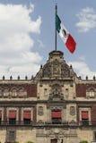slott för stadsfacademexico national Arkivfoto