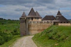 Slott gammal slott Royaltyfri Bild